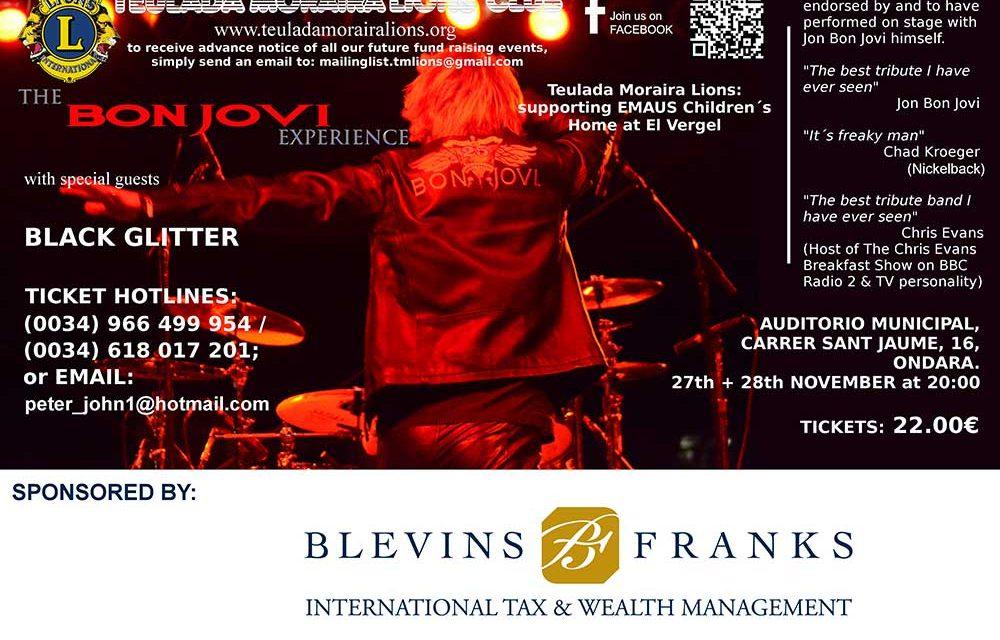 27&28 Nov. Bon Jovi Experience
