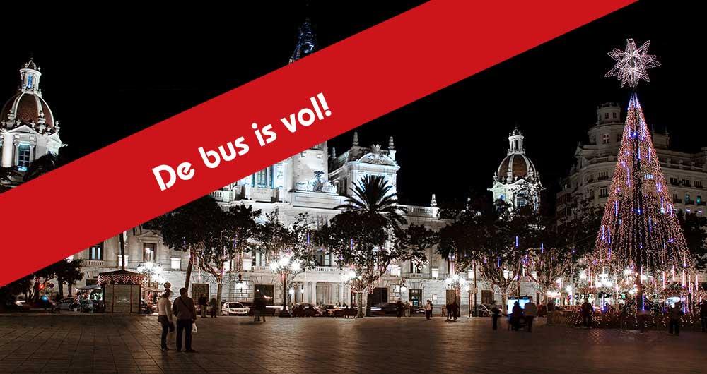 9 dec. Kerstinkopen in Valencia