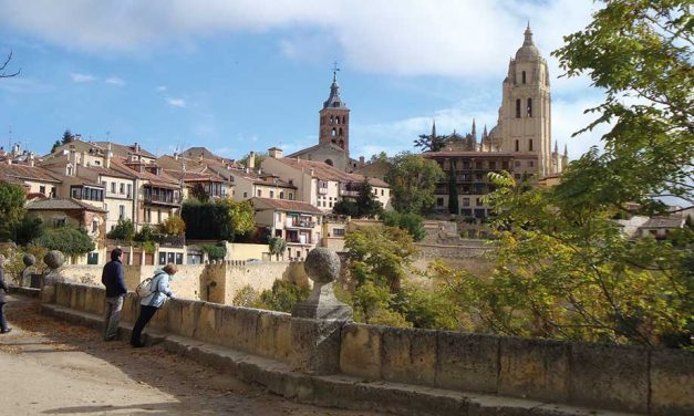 Bridge in Segovia, 11-15 april 2016
