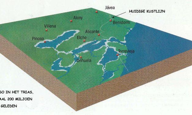 De zoutberg bij Pinoso