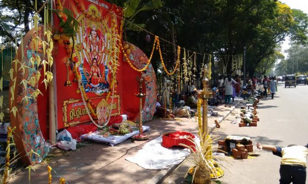 Stukje Wereld: het Pongala feest in India