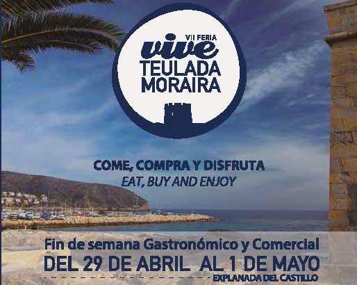 Vive Teulada Moraira 29 april – 1 mei