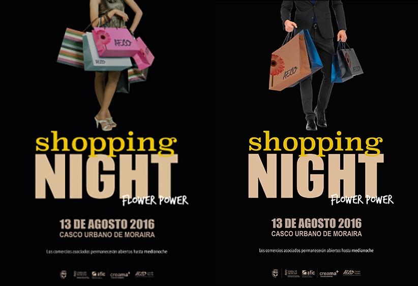 Shopping Night Moraira 13 aug.