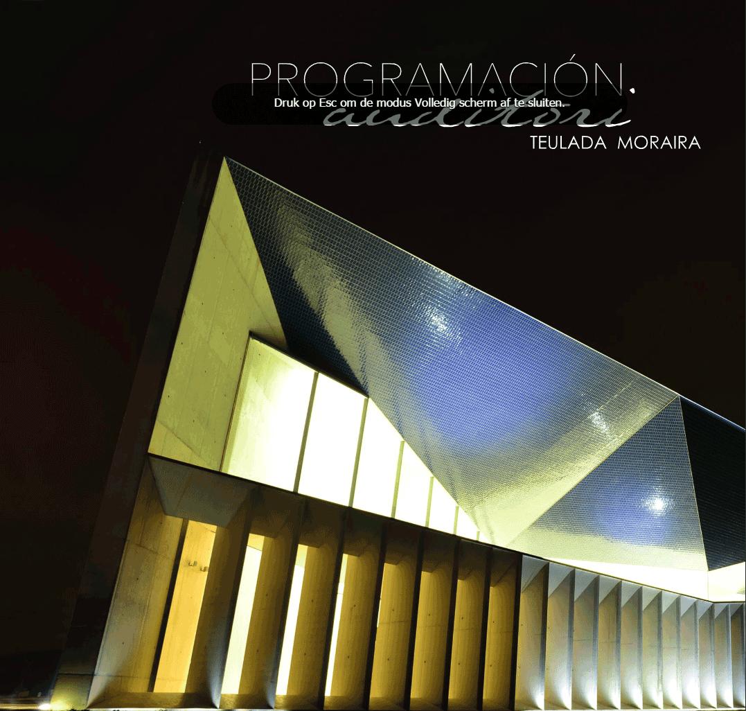 Winterprogramma Auditorium Teulada