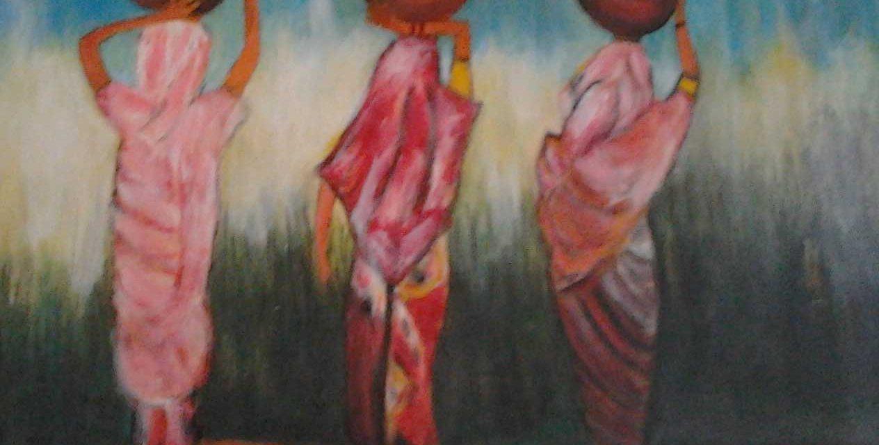 Een penseelstreek: Afrika