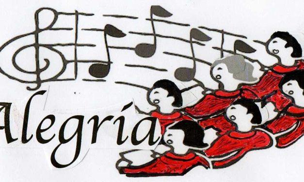 Optreden koor Alegria