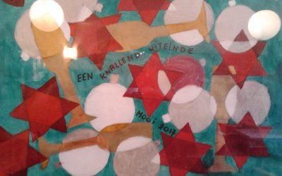 Een penseelstreek: abstract