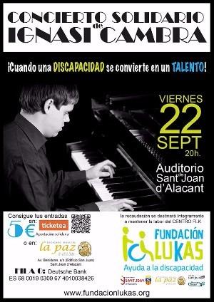 Pianoconcert Ignasi Cambra 22 sept.