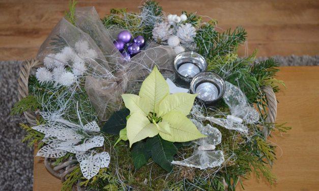 Workshop kerststukje maken  18 december