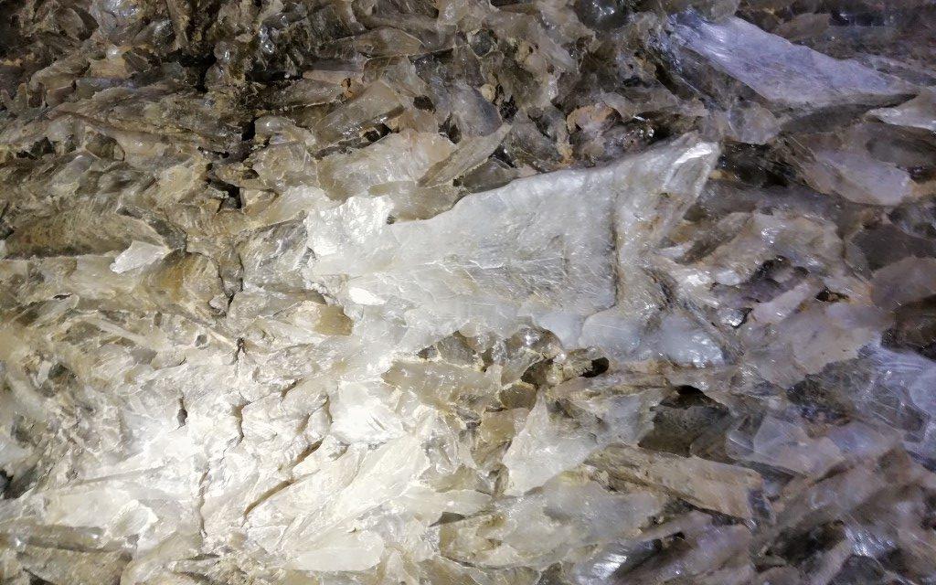 Gips-grot bij Sorbas