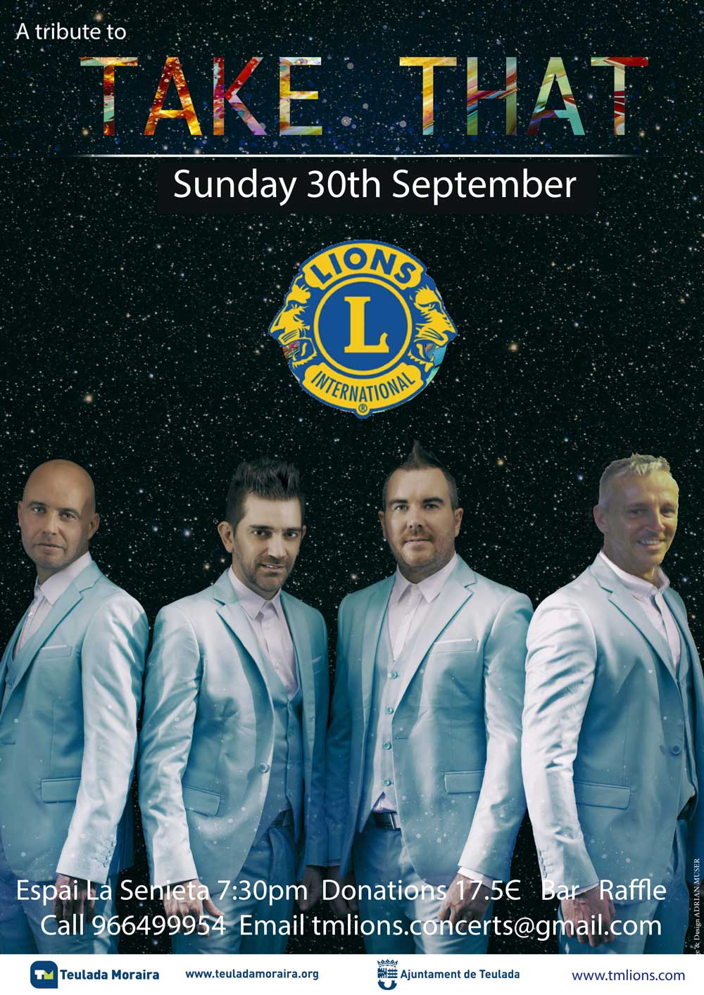 A Tribute to Take That 30 sept. 2018