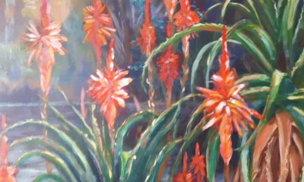 Een penseelstreek: bloemig