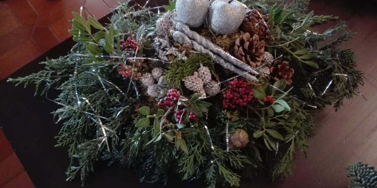 Verslag workshop kerststukjes maken 18 december 2018