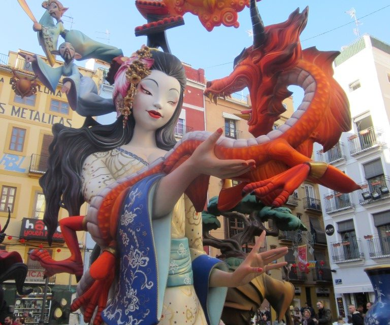 Fallas in Valencia