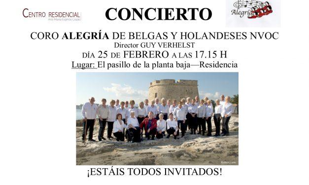 Concert Alegria 25 februari
