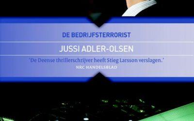 Nieuw in de bieb: Jussi Adler-Olsen – De Bedrijfsterrorist