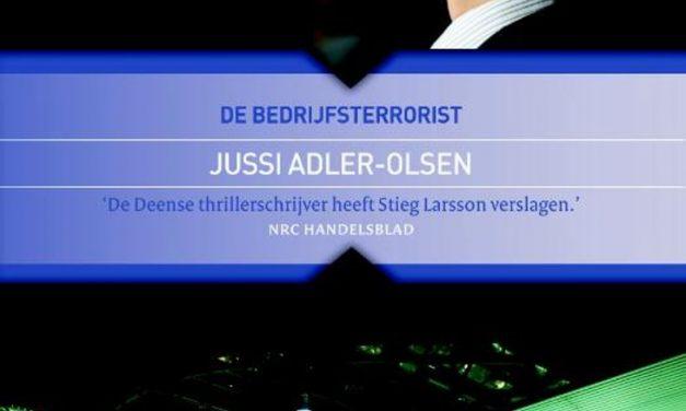 Nieuw in de bieb: De bedrijfsterrorist – Jussi Adler-Olsen