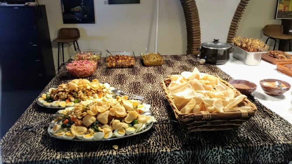 Indisch buffet woensdag 18 december 2019