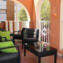 lange termijn Appartement te huur Centrum Moraira, groot terras, gemeubileerd, lift